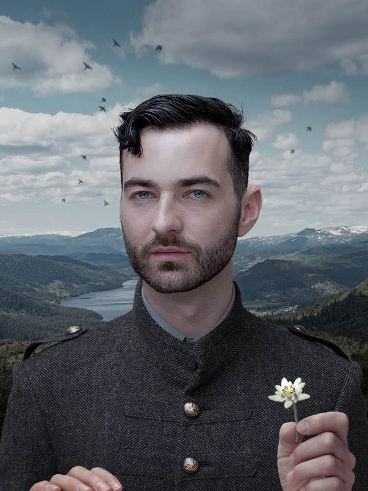 'Man with Edelweiss', 2012