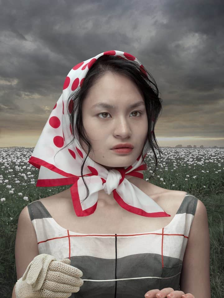 'Girl with Poppies', 2012