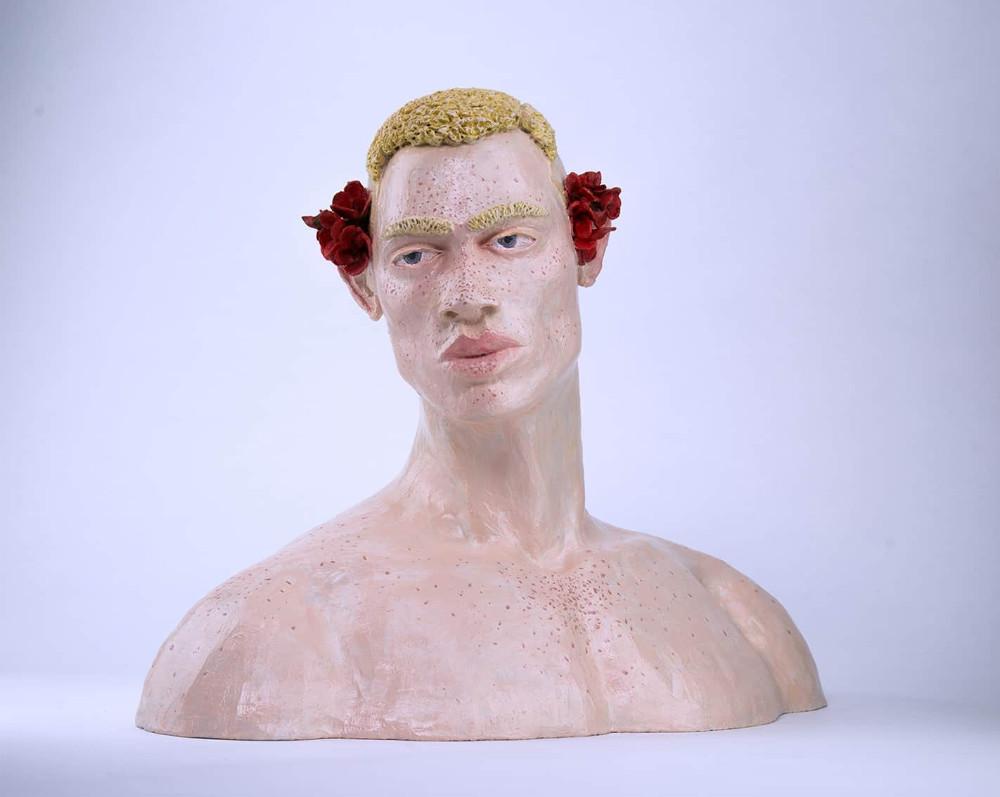 'Adorned', 43cm x 42cm x 25cm, 2018