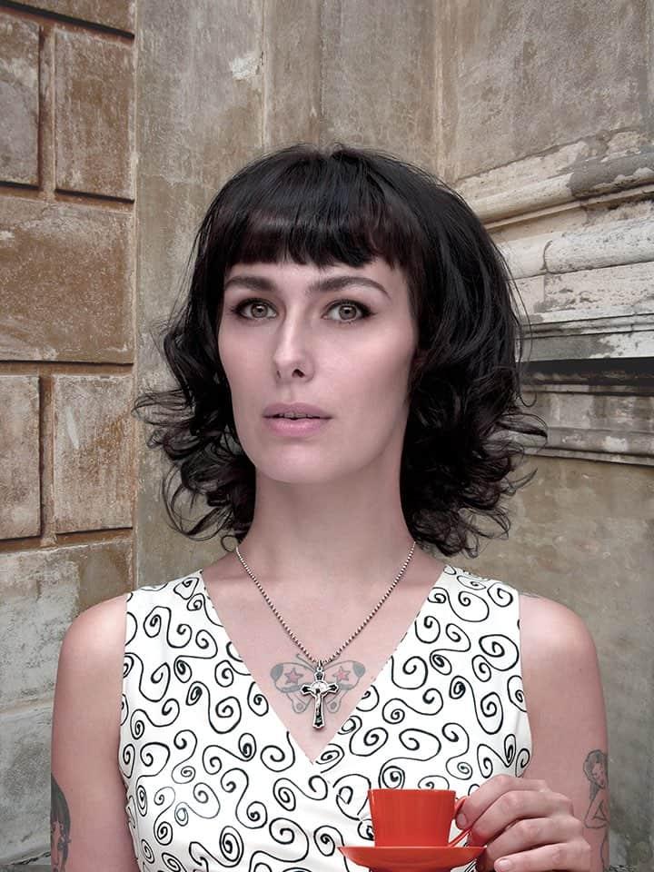 'Donna con Tazza Arancione', 2014