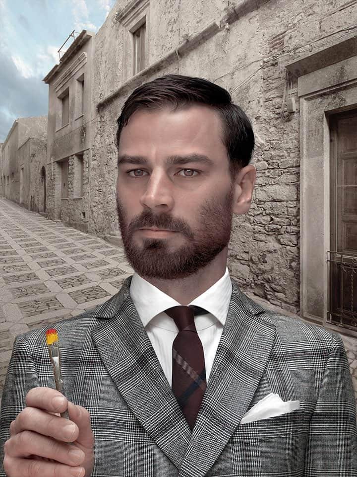 'Uomo in Grigio', 2014