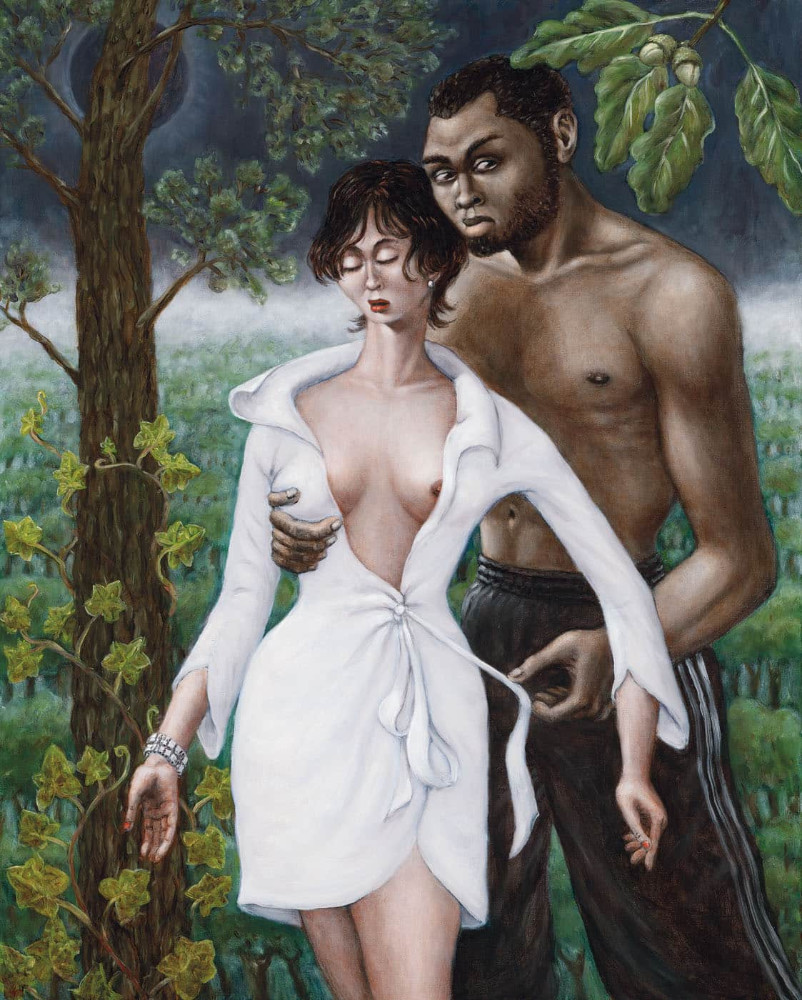 'Adam and Eve III', 100cm x 80cm, oil/linen, 2003