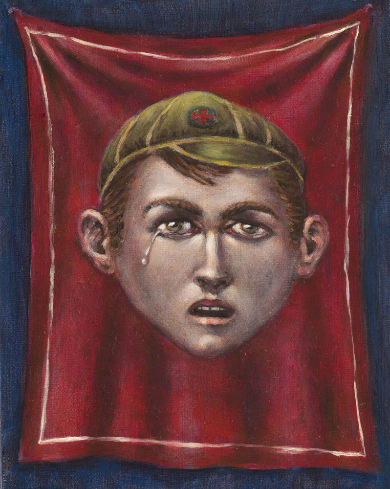 'Boy Sorrow', 30cm x 24cm, oil/linen, 2004