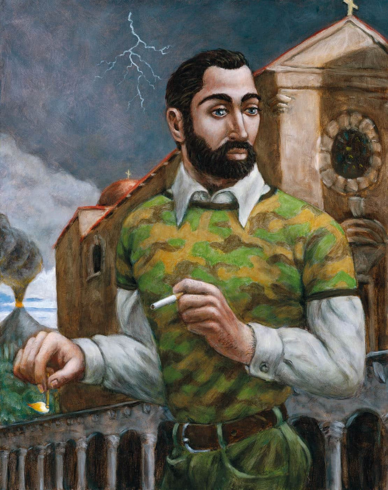 'Othello', 85cm x 68cm, oil/linen, 2006