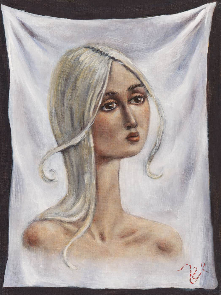 'Veronica' (Italian version), 40cm x 30cm,  oil/linen, 2004