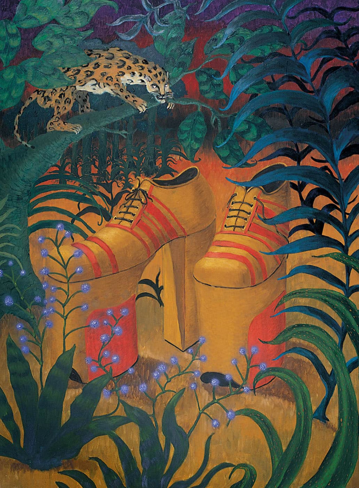 'King's Lost Shoes', 200cm x 150cm, oil/linen, 1989