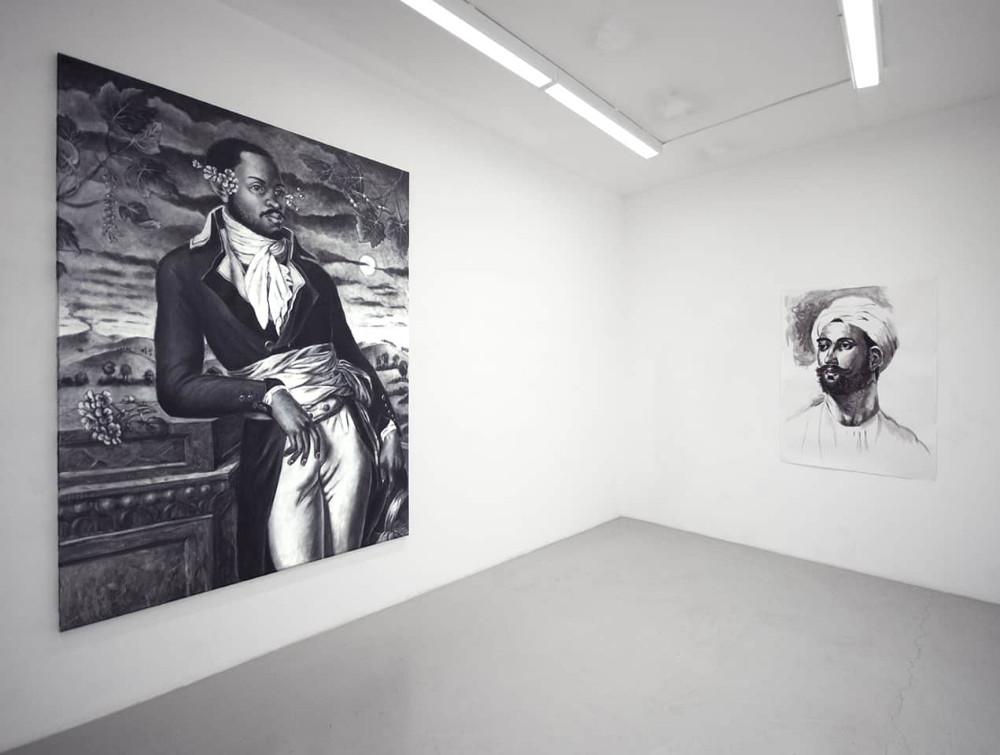'Back To Black', Witteveen Art Space, Amsterdam, 2015