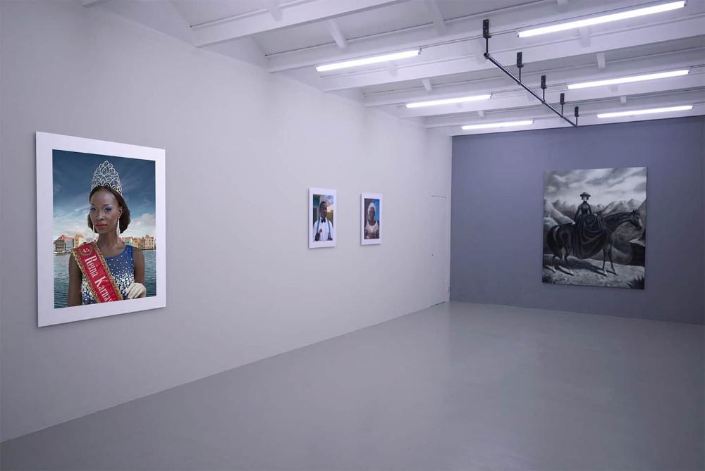 'Back To Black', Witteveen Artspace, Amsterdam, 2015